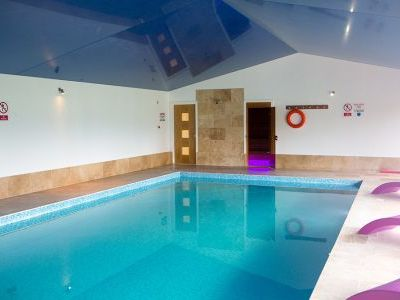 Sleeps 12 with indoor pool