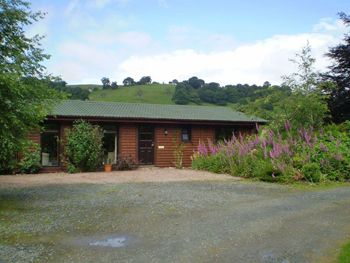 Self-catering lodge in Wales