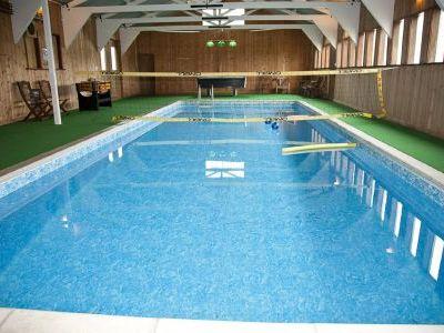 Sleeps 12 with indoor pool