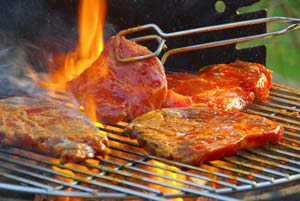 self catering holiday cottages with a barbecue