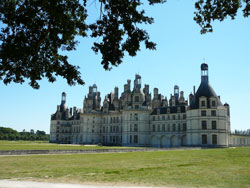 Chambord chateau in the Loire valley
