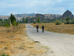 Cycling on a self-catering holiday in Turkey