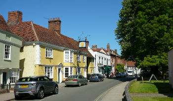 Dedham in Essex for picture-perfect cottage breaks