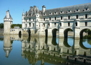 fairytale castles in the Loire valley France