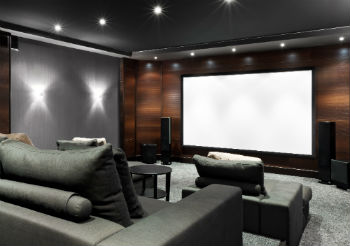Cottage Cinema Room