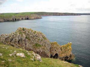 Views from coastal path Pembrokeshire National Park