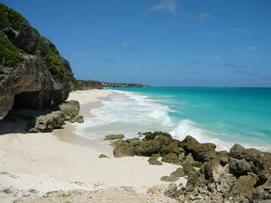 Crane beach, beautiful sands and turquoise waters