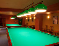 Cottage with a Snooker Table